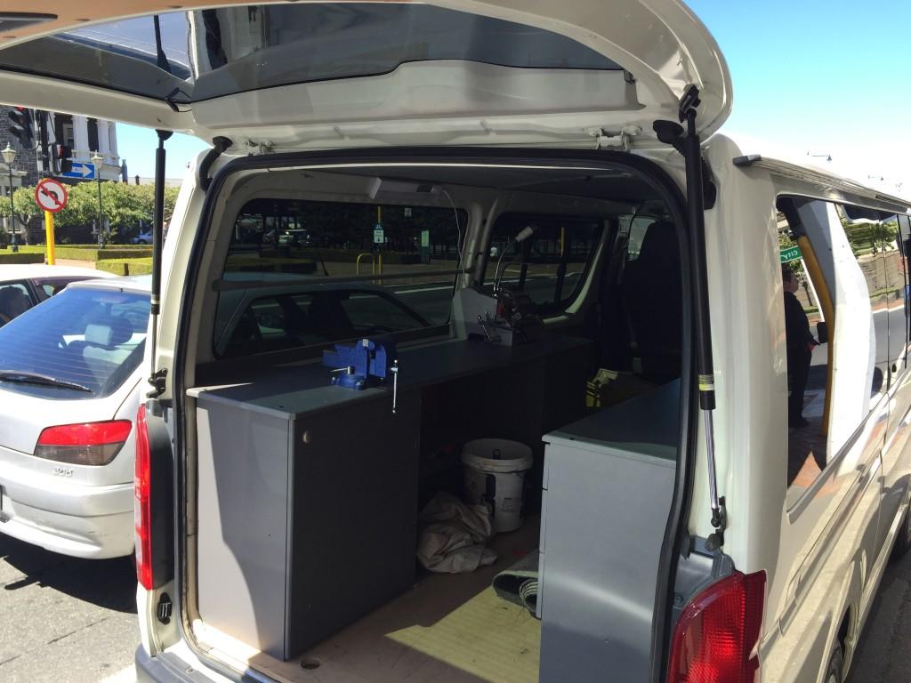Workshop Van